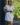 Robe saharienne blanche manches courtes-1